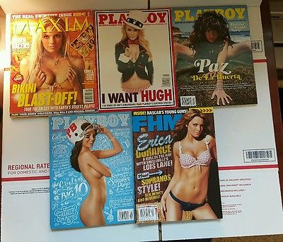Lot of 17 Mens Magazines Maxim FHM 1