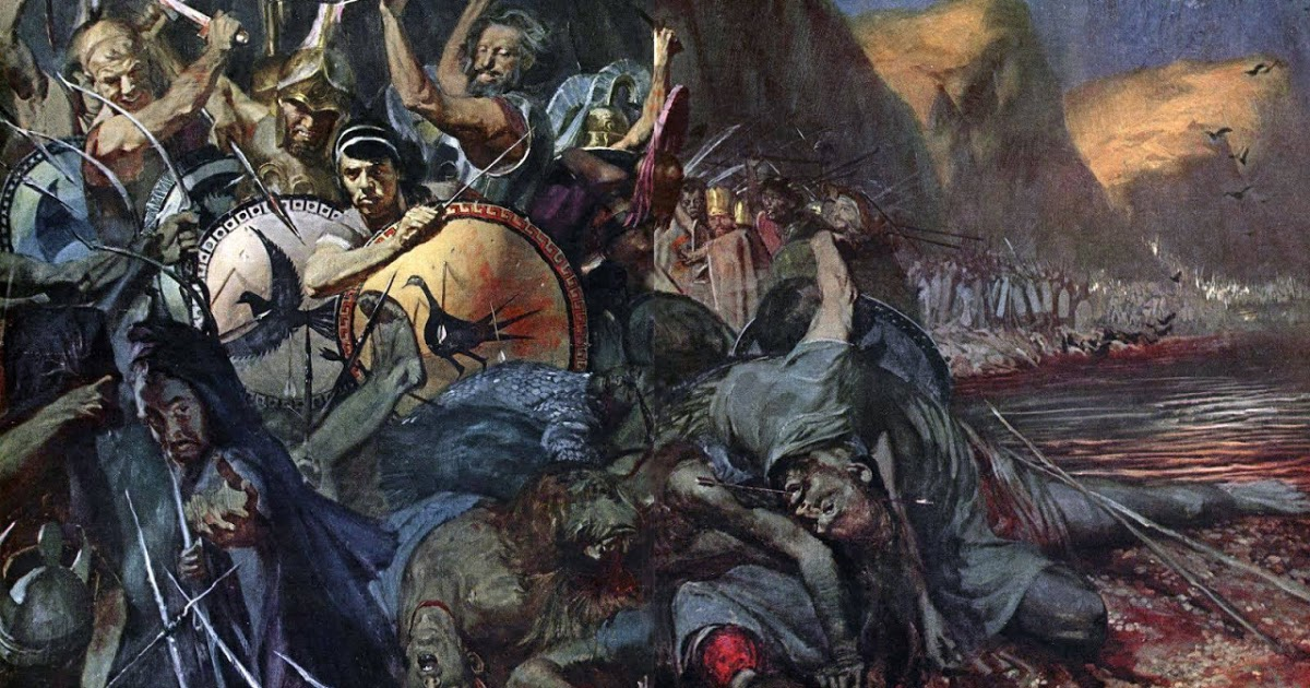 Stanley Meltzoff Battle of Thermopylae