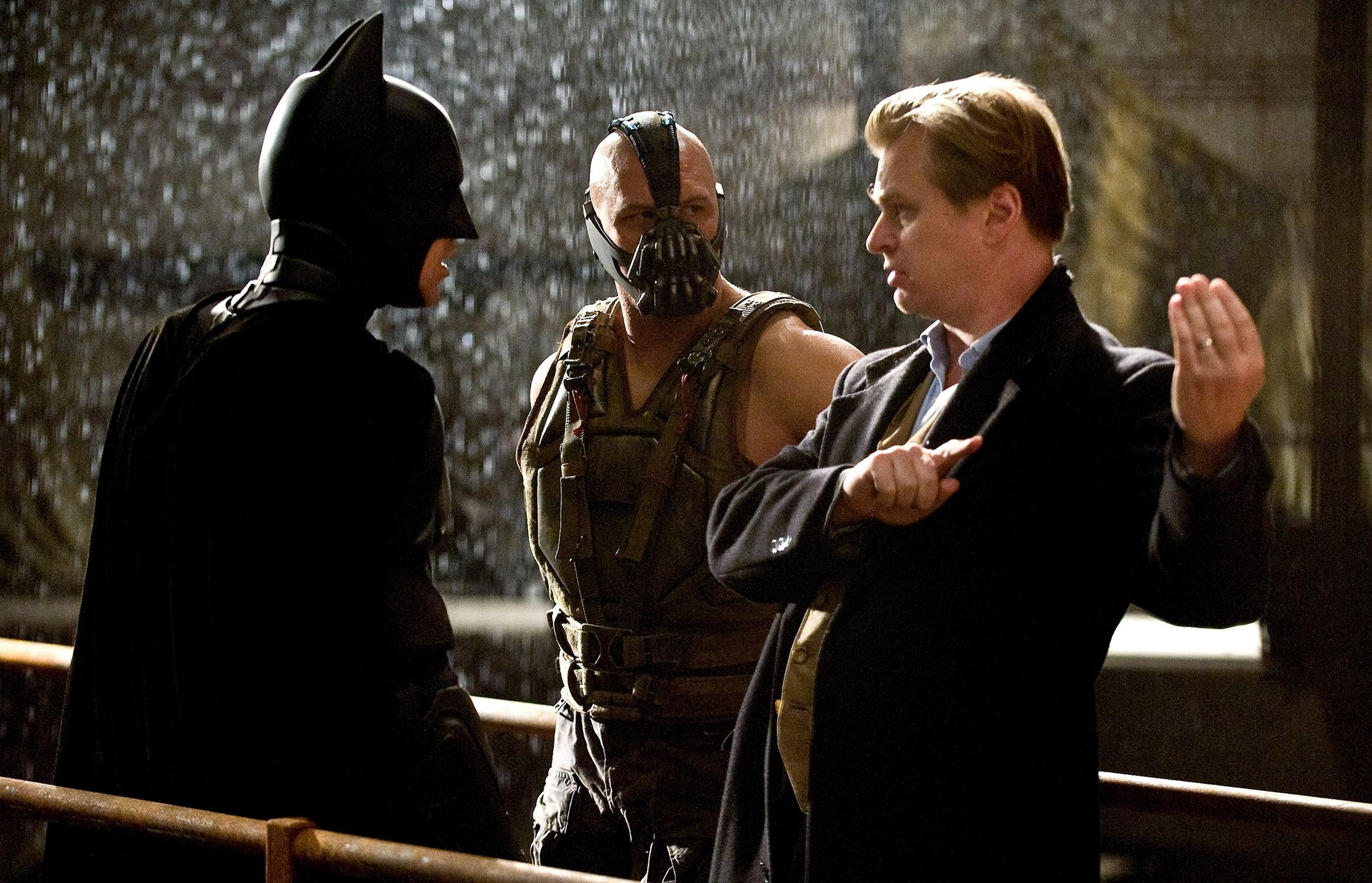 Tom Hardy and Christopher Nolan 2