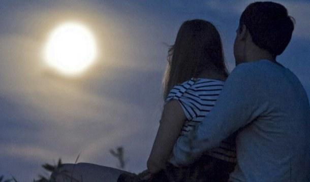 couple full moon love romantic Favim.com 3025228