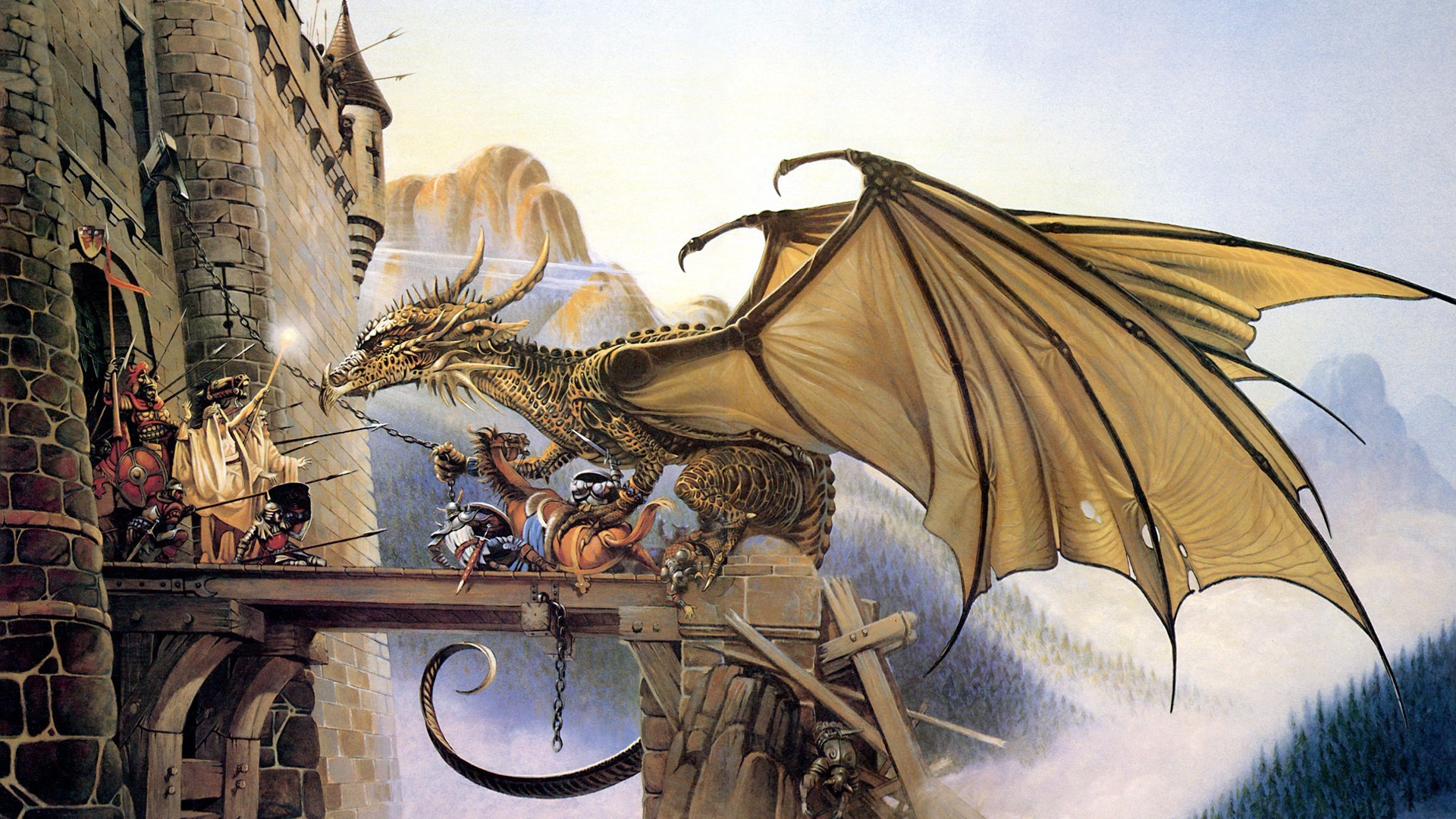 178683 Chris Achilleos dragon fantasy art
