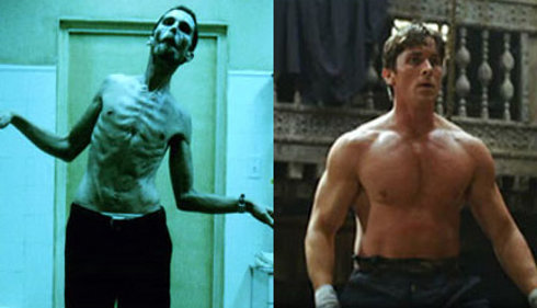 christian bale before after
