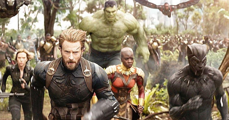 2018 movies avengers infinity war
