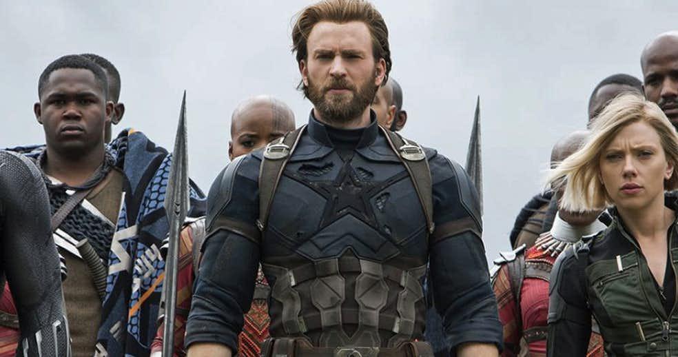 Captain America Chris Evans Avengers Infinity War