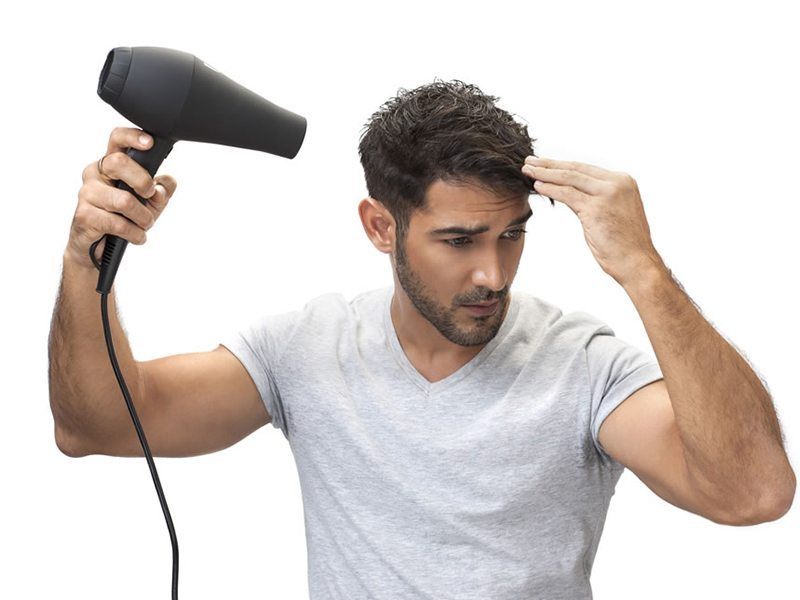 Mens Hairdrying Hairstyling tips for men 1