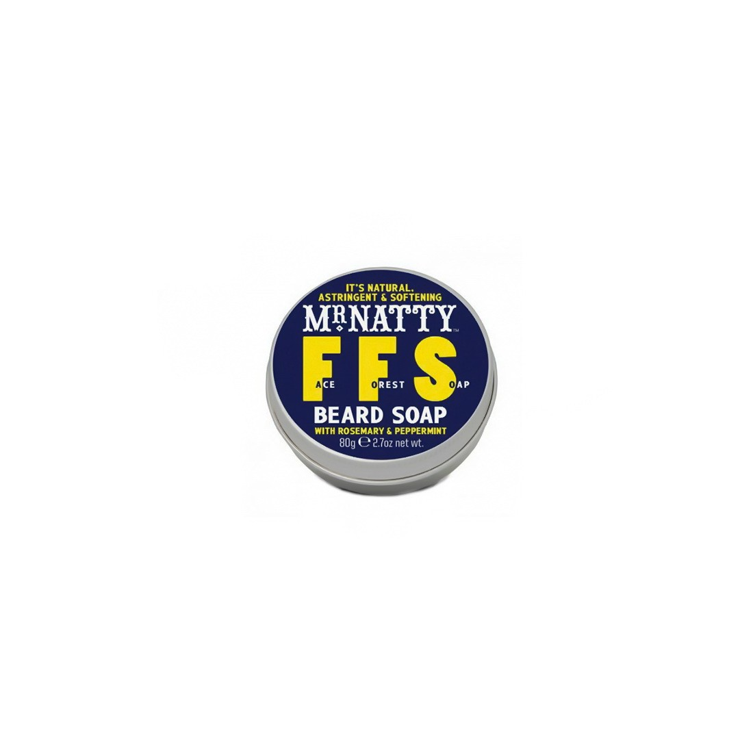 mr natty ffs beard soap 80gr