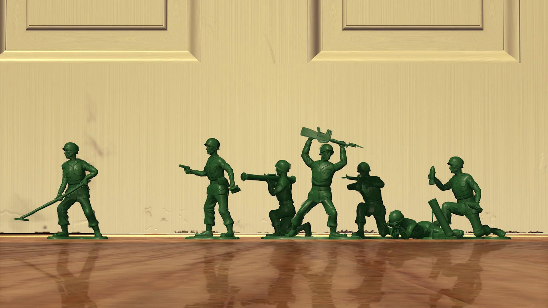 sergent soldat vert personnage toy story 04