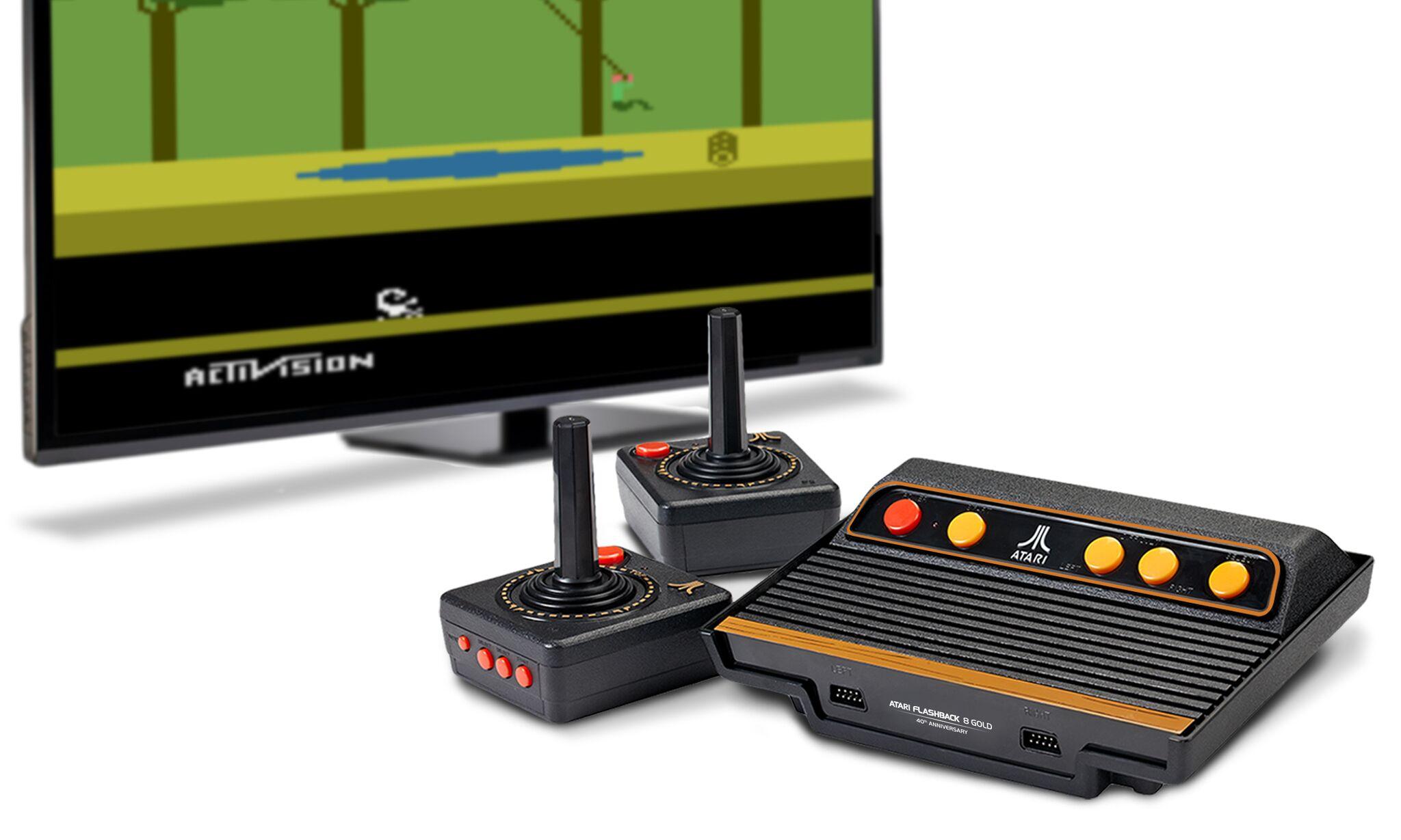Atari Flashback Gold retro gaming console