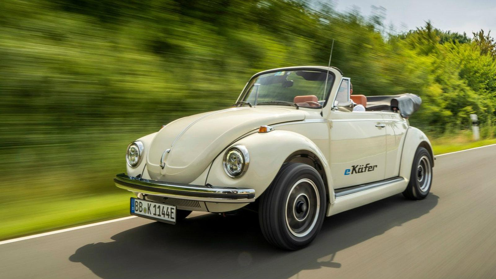 Volkswagen e Beetle Concept 2019 1280 08