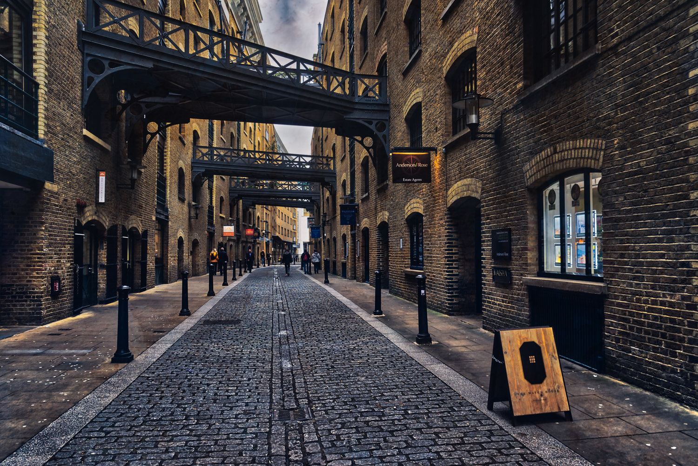 London Jan18 Shad Thames HDR texture1