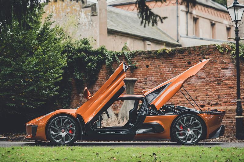 https hypebeast.com image 2019 10 jaguar c x75 james bond spectre one of five stunt car auction 3