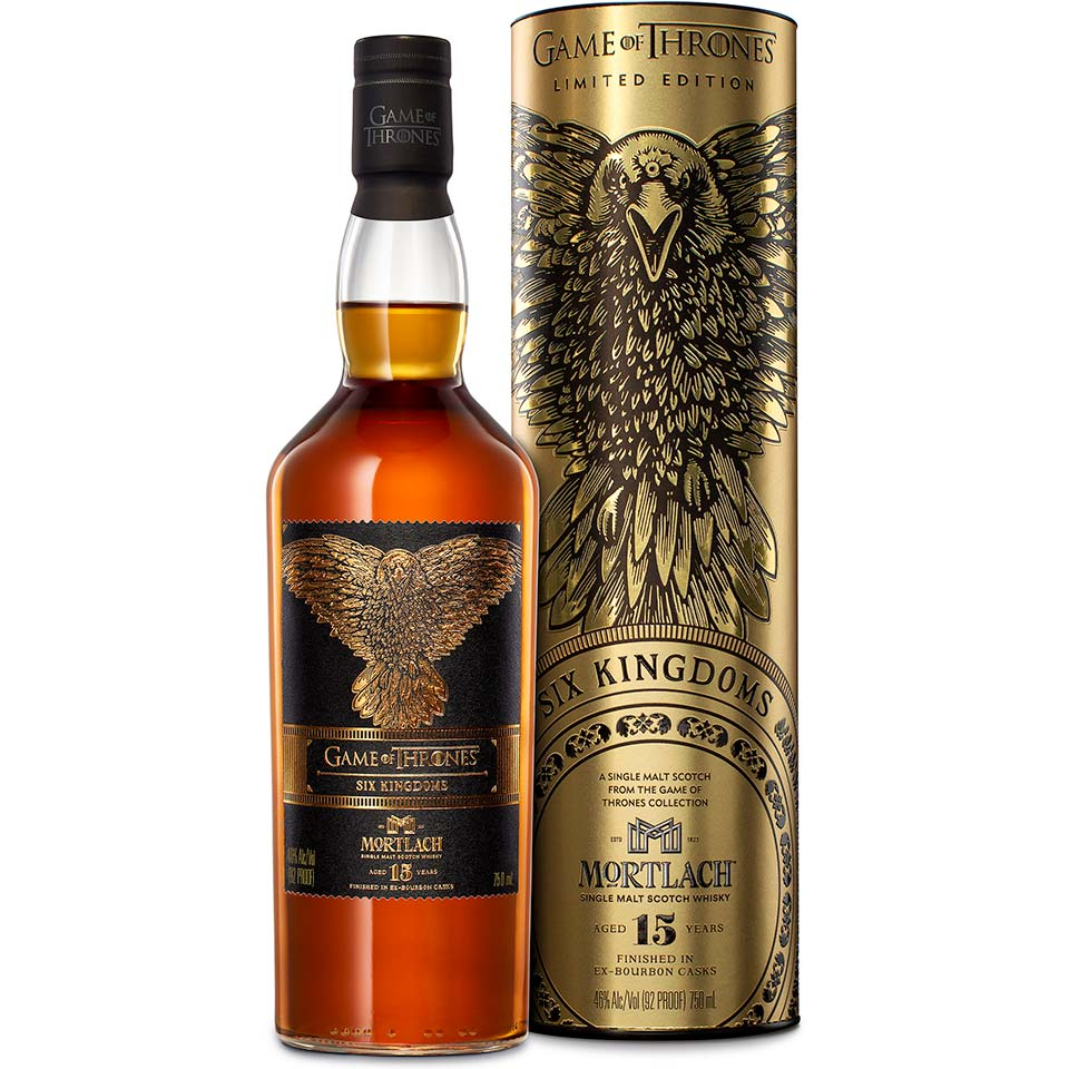 game of thrones six kingdoms mortlach 15 year old 11 05 2019