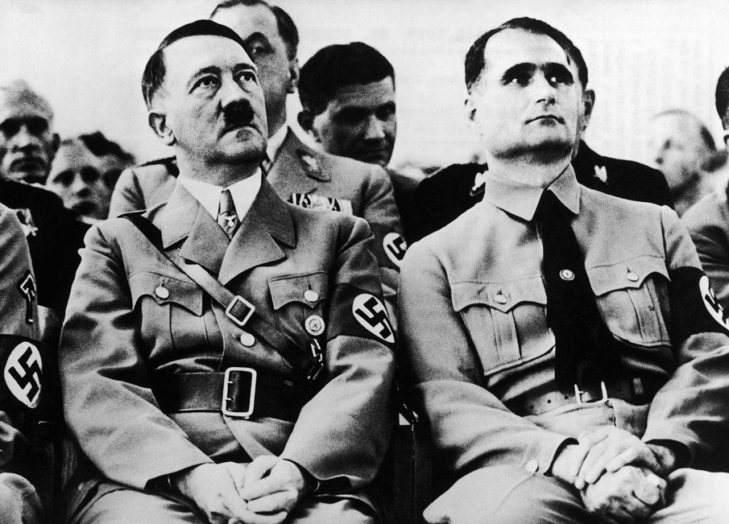 Adolf Hitler and Rudolf Hess around 1934 1024x737
