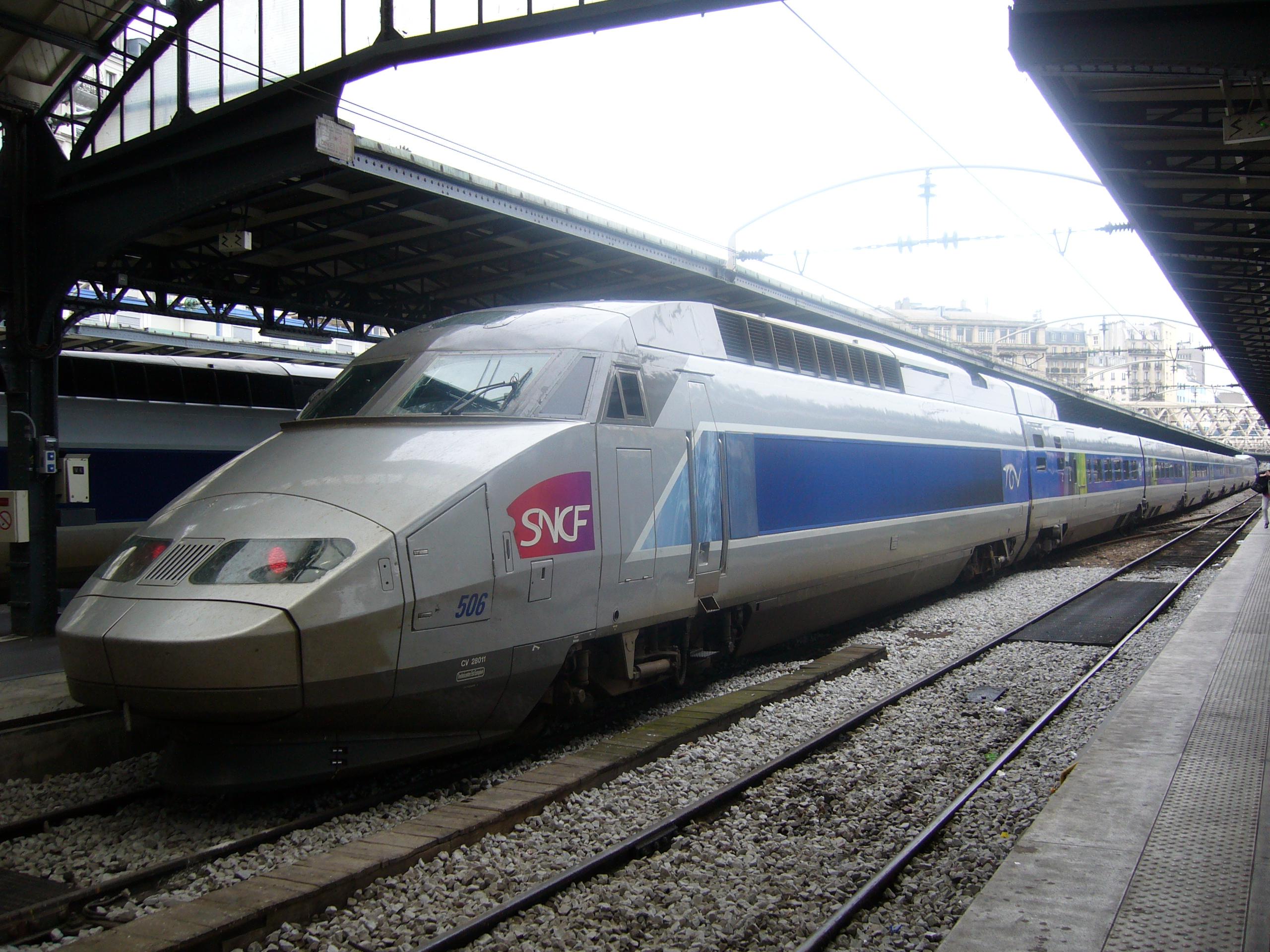 TGV Est Paris