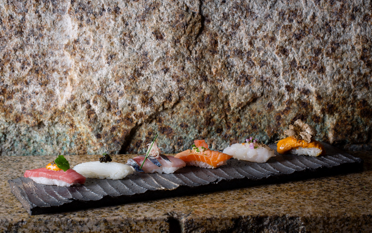 zuma sushi stone