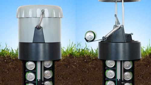 Θα ευχόσουν να είχες αυτό το ψυγείο στον κήπο σου σήμερα