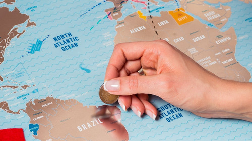 Αν είσαι ταξιδιάρα ψυχή αυτόν τον Χάρτη θα τον λατρέψεις