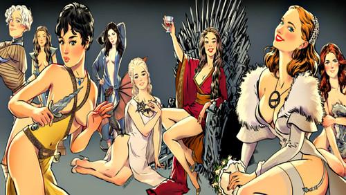 Τα κορίτσια του Game of Thrones στο χαρτί