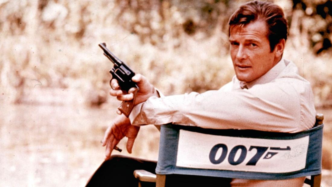 Ο Roger Moore άφησε το δικό του στίγμα στον 007
