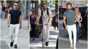 Ψήσου να φορέσεις λευκά jeans όπως ο Justin Theroux