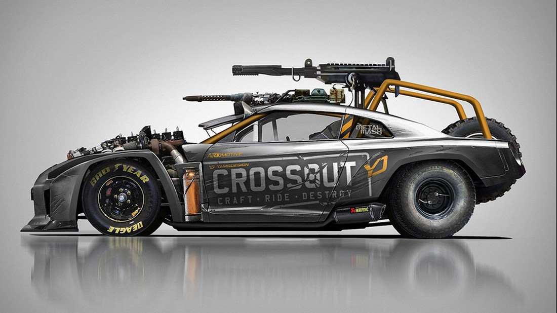 Αυτό το Nissan θα το οδηγούσε ο Mad Max μετά χαράς