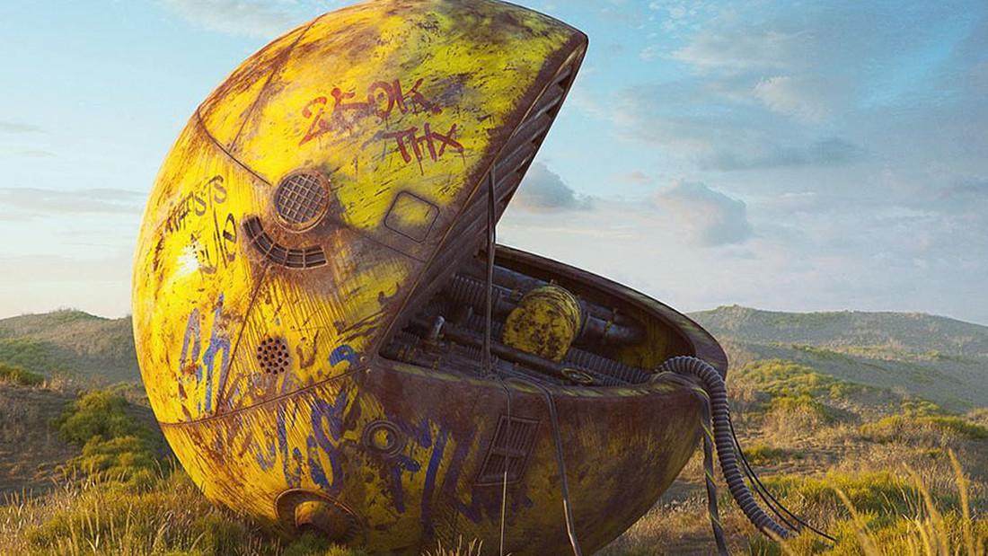 Μπορεί ο PacMan να μεταμορφωθεί σε post apocalyptic έργο τέχνης;