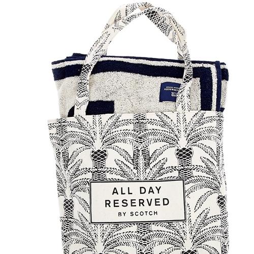 Όλα νοικοκυρεμένα: Πετσέτα και τσάντα για την παραλία