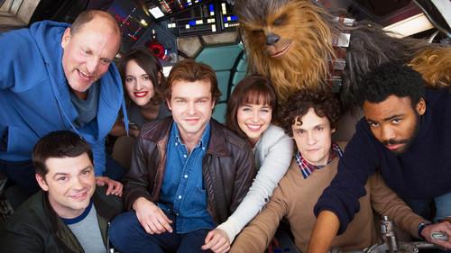 Η πρώτη εμφάνιση του Woody Harrelson στο πλευρό του Han Solo