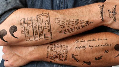 Φανταστικά τατουάζ εμπνευσμένα από 10 σπουδαία βιβλία