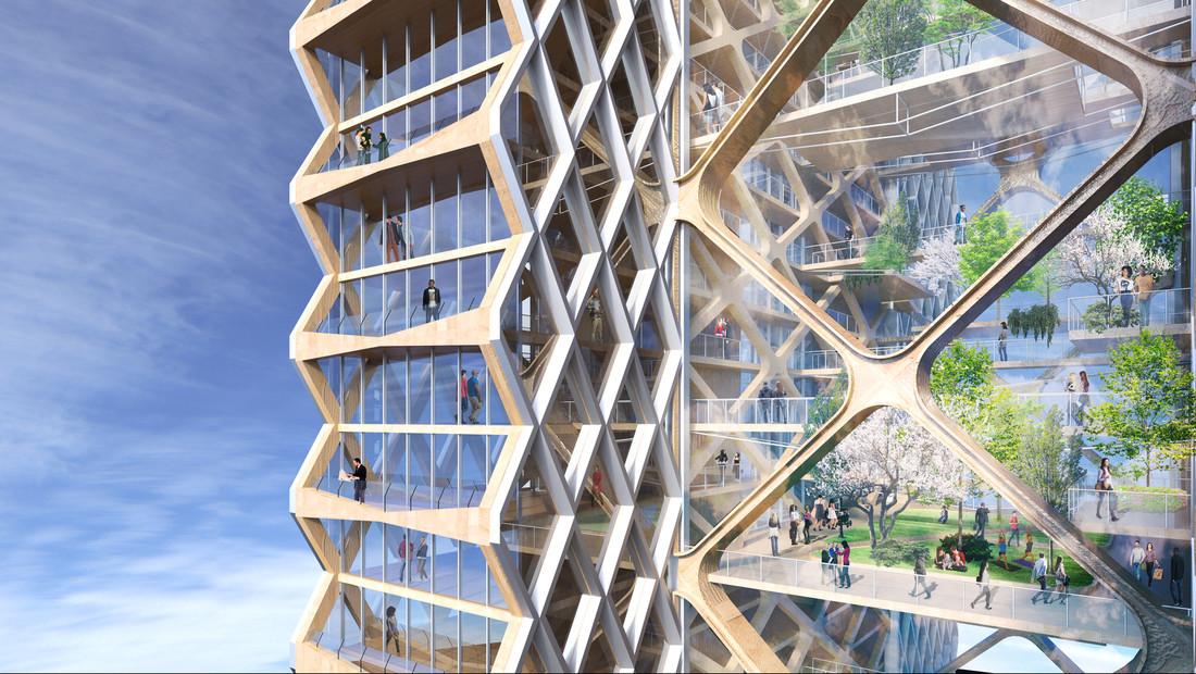 Σε άλλα νέα, στο Σικάγο σχεδιάζουν να φτιάξουν ξύλινους ουρανοξύστες