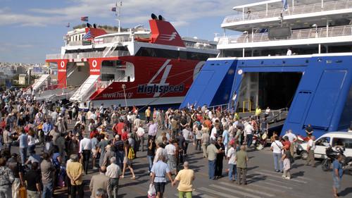 Πόση κατάθλιψη όταν φτάνεις στον Πειραιά μετά από διακοπές;