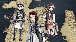 Αν ο Tim Burton σχεδίαζε τους ήρωες του Game of Thrones