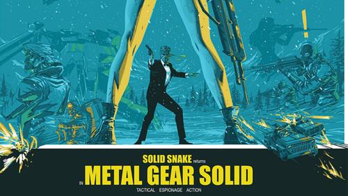 Για φαντάσου λίγο τον Solid Snake σαν James Bond