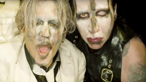Marilyn Manson και Johnny Depp στο πιο αλλόκοτο μουσικό βιντεοκλίπ