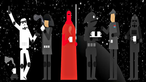 Η βάρδια στο Death Star ΔΕΝ βγαίνει χωρίς καπουτσίνο