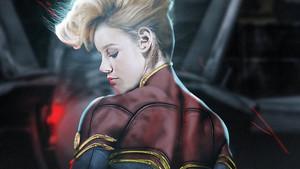 Οι πρώτες φωτογραφίες της Brie Larson ως Captain Marvel