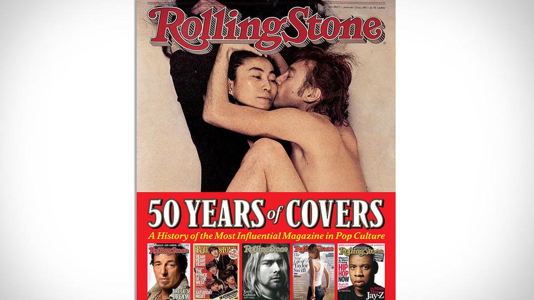Tα 50 καλύτερα εξώφυλλα του Rolling Stone σε ένα λεύκωμα