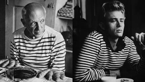 Το μπλουζάκι του Picasso και του James Dean που συνεχίζει να ιντριγκάρει