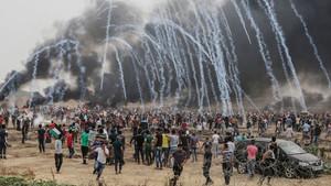 Πόσο «απίστευτη» ήταν η μέρα του Νετανιάχου για τους 58 νεκρούς στη Γάζα;