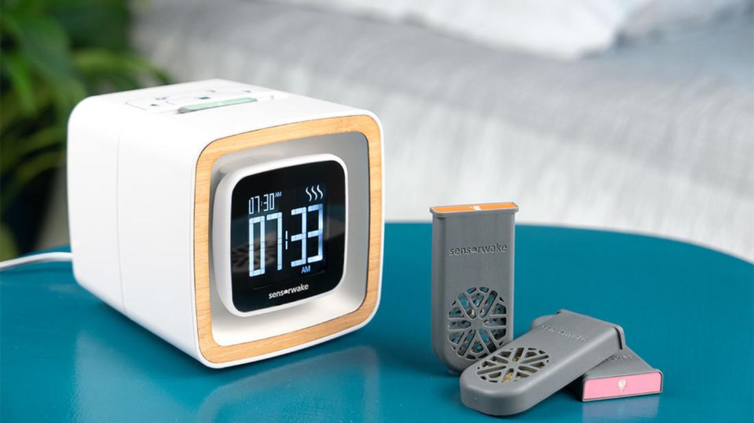 Αυτό εδώ το ξυπνητήρι σε ξυπνάει με τη μυρωδιά του καφέ!