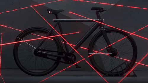 Υπάρχουν υποψίες ότι αυτό το ποδήλατο έχει υπερδυνάμεις