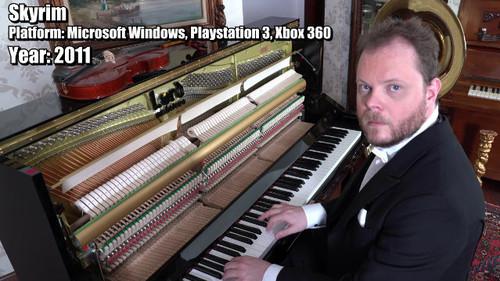 Αυτός ο τύπος παίζει στο πιάνο τις μουσικάρες των καλύτερων video games