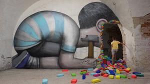 Μουσείο τιγκαρισμένο με έργα από street artists