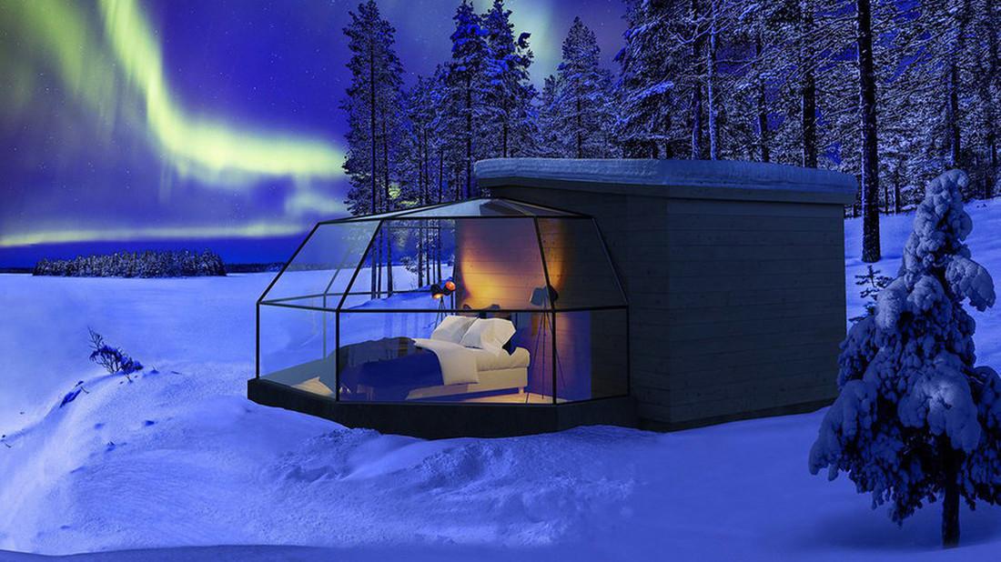 Πολυτελή ιγκλού για όσους βλέπουν τον χειμώνα ως εμπειρία