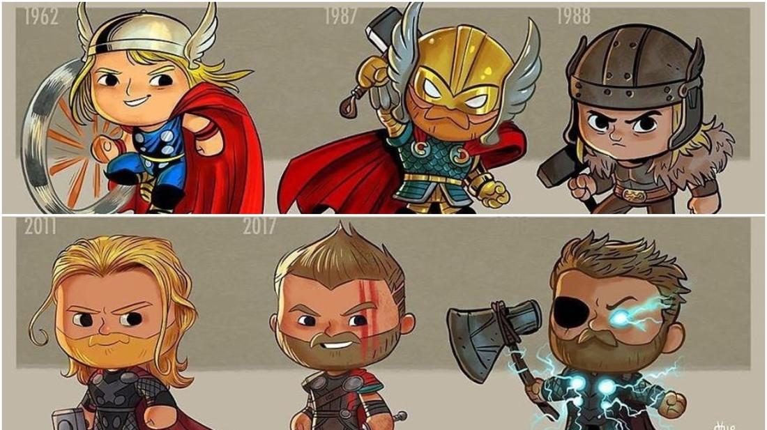 «Βρε, βρε, βρε τον Thor! Πώς μεγάλωσες έτσι;»