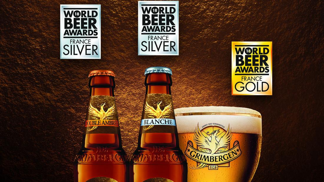 Η Grimbergen, η θρυλική σειρά από μοναστηριακές μπύρες, απέσπασε 3 βραβεία!