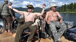 Το ημερολόγιο του Πούτιν για το 2019 είναι γεμάτο Υπερηφάνεια και Τρυφερότητα