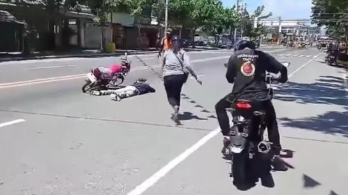 Η σκηνή ατυχήματος που βλέπεις καταλήγει σε πρόταση γάμου