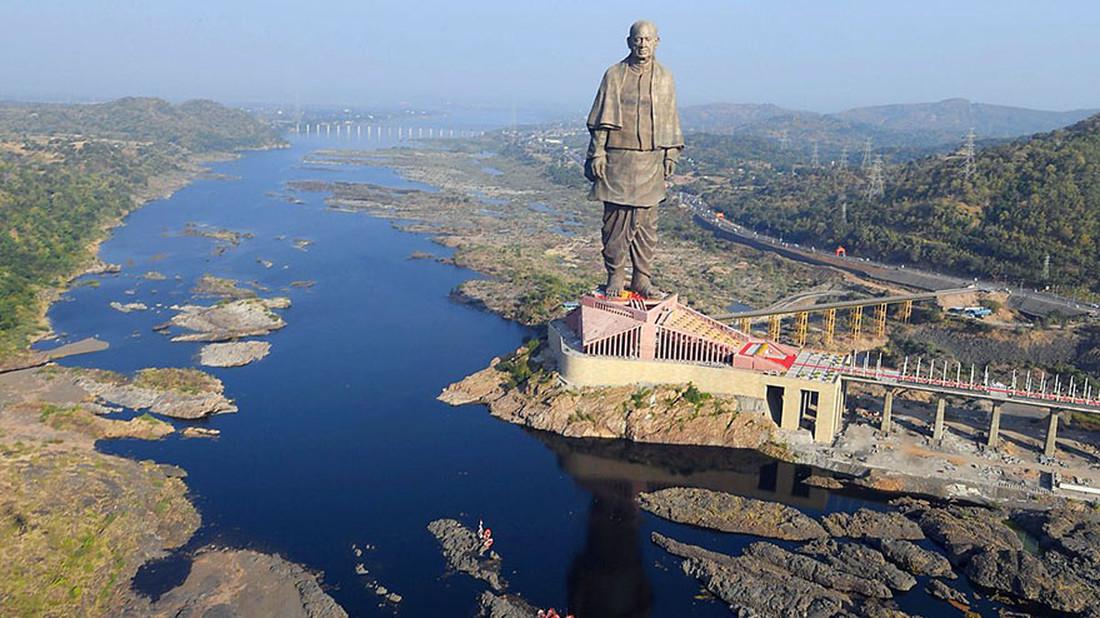 Το πιο ψηλό άγαλμα του κόσμου βρίσκεται πλέον στην Ινδία