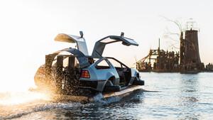 Πώς θα σου φαινόταν το DeLorean σε hovercraft;